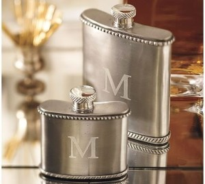 Antique Bar Flask