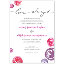 Tangle of Love Wedding Invitation