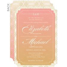 Fondly Framed Wedding invitation