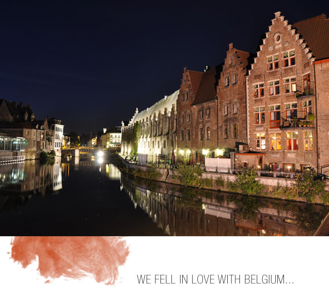 Honeymoon tip! A boat ride for two along the canals with champagne makes for a fun way to start your evening…