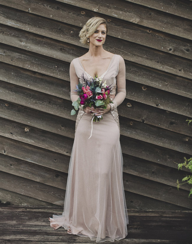 Loved Marissa's pink sequin gown