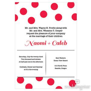 CANDY COLORFUL INVITATION