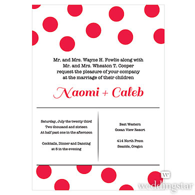 CANDY COLORFUL INVITATION