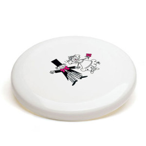 BRIDE & GROOM FRISBEE