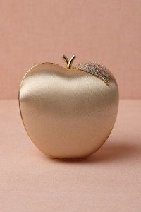 Golden Delicious Clutch #wedding