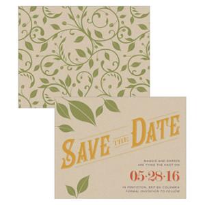 VINEYARD SAVE THE DATE CARD