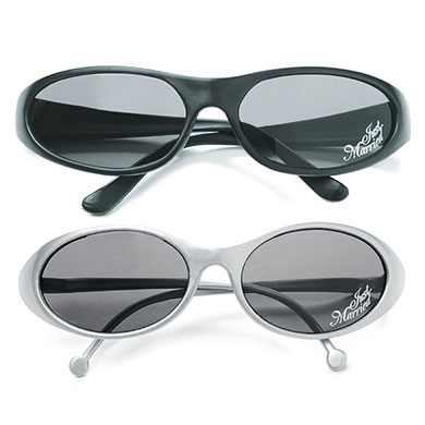 """JUST MARRIED"" SUNGLASSES"