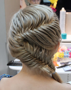 Gorgeous German braid wedding hairstyles