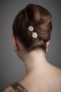 Gorgeous Wedding Hair ♥ Sleek Wedding Bun