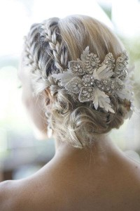Gorgeous Wedding Hair ♥ Sleek Wedding Braided Bun / Updo