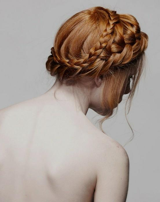 s curl hairstyle : Country and rustic wedding hairstyle