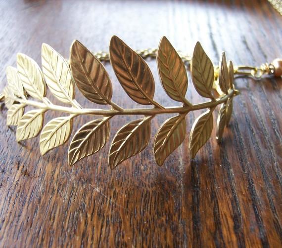 Gold Branch Cuff Bracelet // Best seller // Grecian Bracelet // Bridesmaids Bracelet