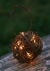 Outdoor Rustic Wedding Decoration Candles