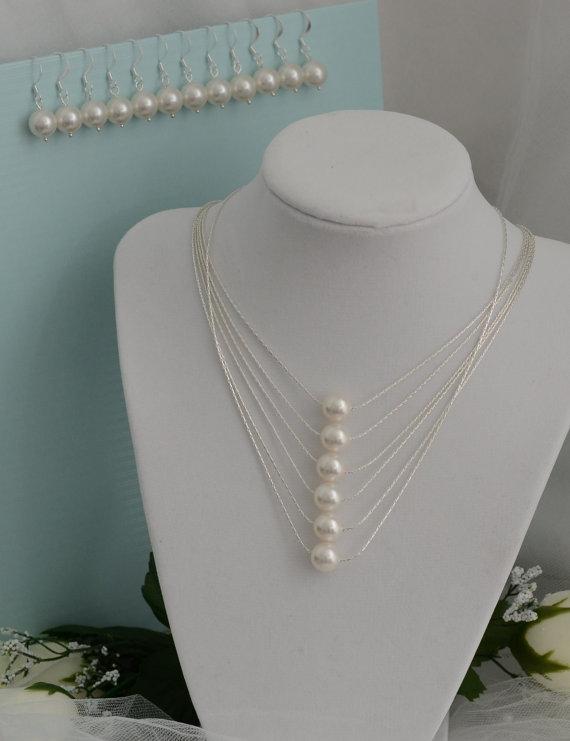 Bridesmaid Jewelry Necklace