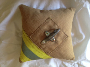 Firefighter Wedding Ring Pillow