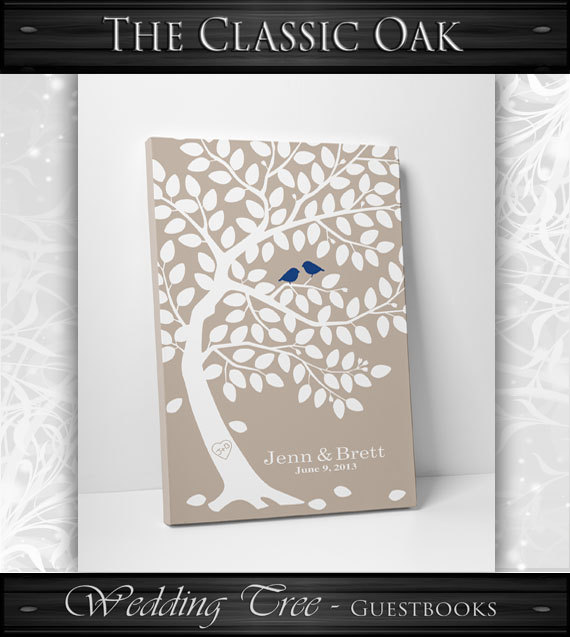 Wedding Tree Guest Book // Wedding Guest Book Tree // Personalized Wedding Print