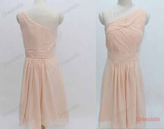 Bridesmaid Dress – Champagne Bridesmaid Dress / Plus Size Bridesmaid / Custom Make Bridesmaid Dress / Prom Dress / Cheap Prom Dress