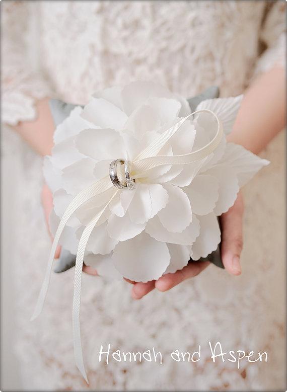 Wedding ring pillow – Wedding ring bearer – Ring pillow bearer