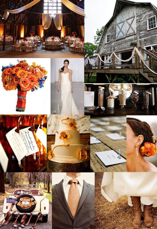 Rustic Chic Barn Wedding Inspiration