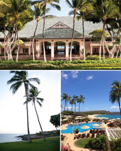 You won't need to rent a car on Lanai, as there are only 30 miles of paved roads (unless you want to go off roading, more about that later) – plus, if you stay at one of the Four Season resorts they have shuttles to take you from one resort to the other and into Lanai City. Upon arriving at Lanai, we were greeted by a bellman from the Four Seasons and taken on a quick 10 minute drive to the resort.