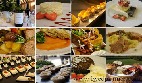 Professional Wedding foods