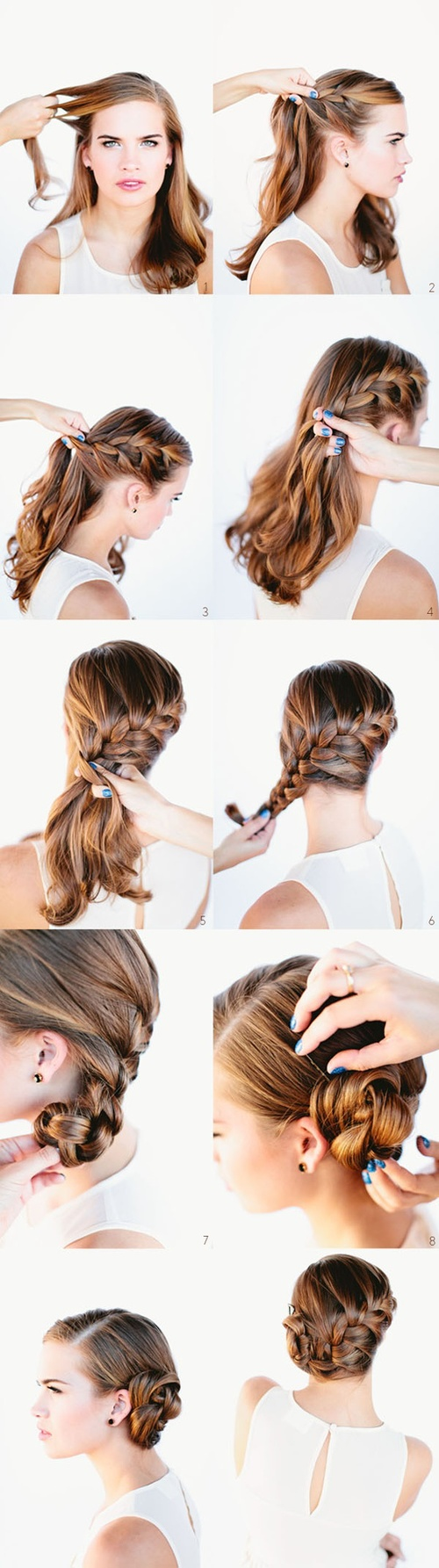 DIY Wedding Hairstyle Do It Yourself Fashion Tips