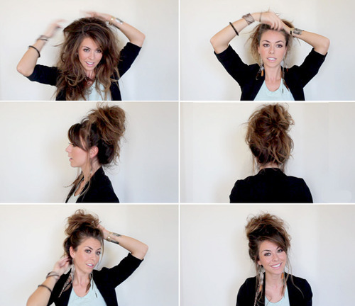 How to make a perfect messy bun