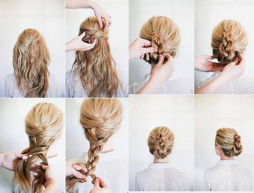 French Braided Twist from Once Wed !