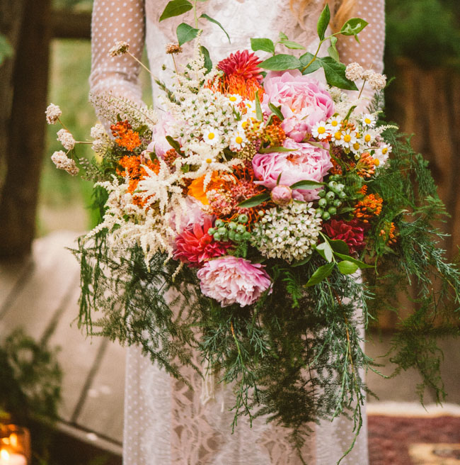 Bouquet by Honey and Poppies from this feature