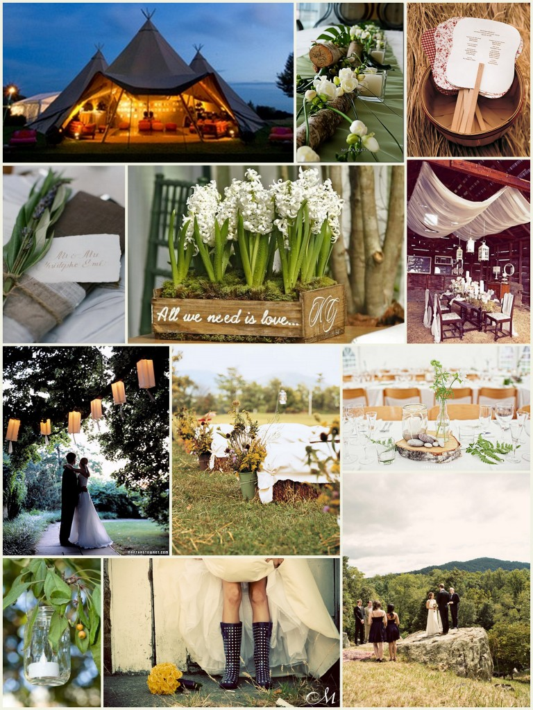 Wedding Theme – Inspired by Nature