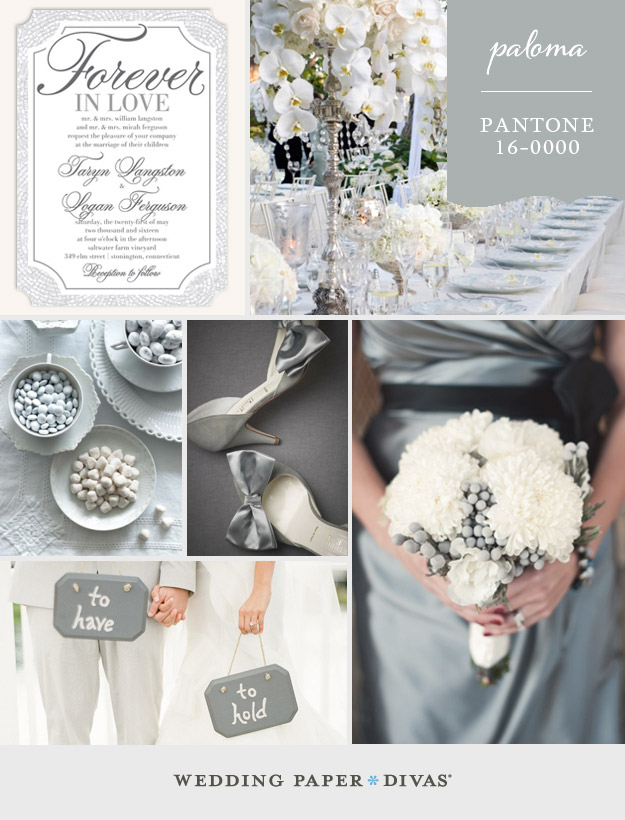 Pantone Paloma Inspiration Board