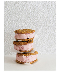 Ice Cream Sandwiches Imagine the excitement when guests find stacks of sweet goodness waiting on the tables.