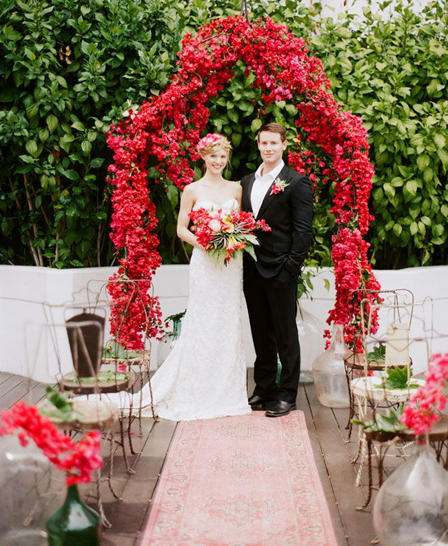 And last, but not least, this second bougainvillea ceremony design!