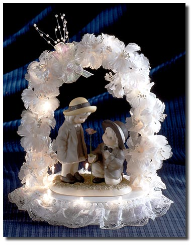 Unique Wedding Cake Toppers Illumination