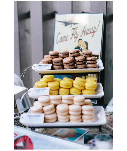 Macarons These delicate French confections are refined and oh-so-tasty. Ooh la la!