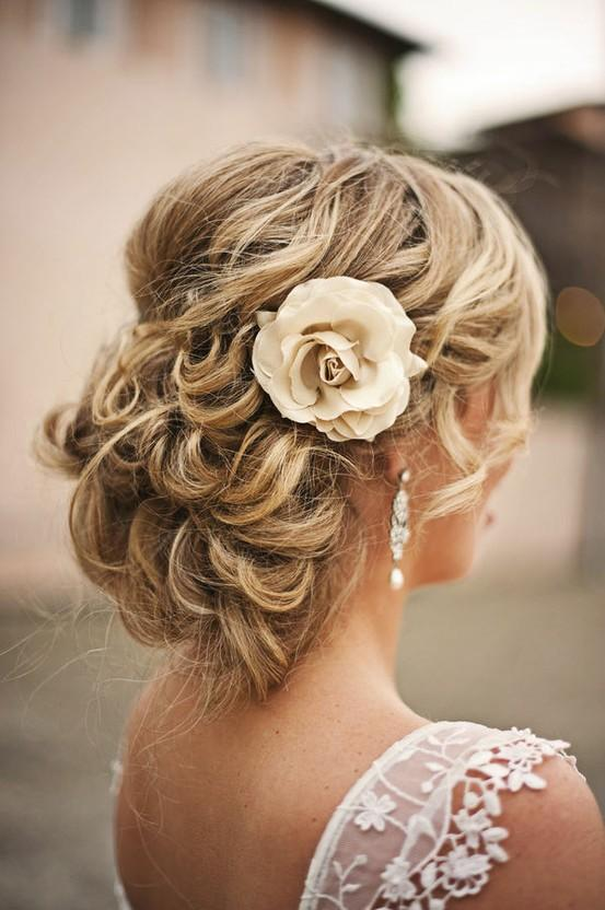Simple Wedding HairStyles ♥ Wedding Updo Hairstyle