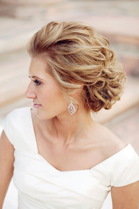 Wedding Hairstyles Wavy Curly Short Hair