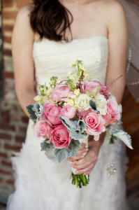 Nice & Pretty Colorful Wedding Bouquet