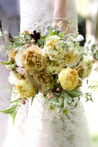 Cute & Nice Yellow Wedding Bouquet