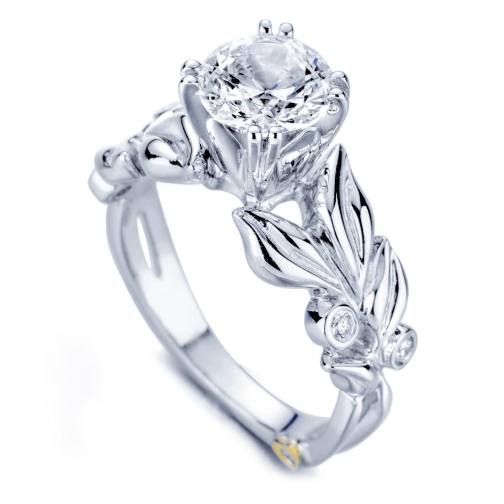 Flora Diamond Wedding ring