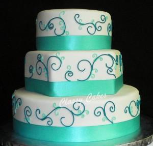 Modern style multi Shape Cake