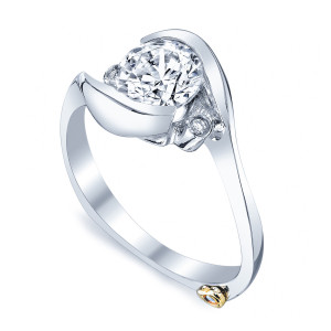 Spark  wedding ring