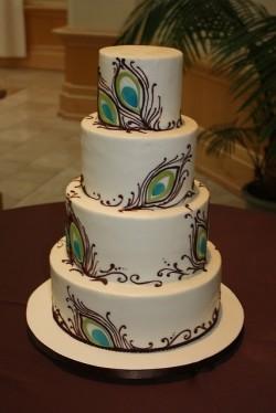 Brides cake