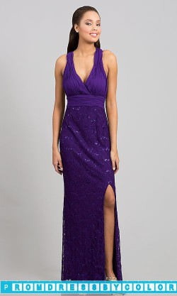 $184 Black Prom Dresses – Floor Length Sleeveless V-Neck Dress at www.promdressbycolor.com
