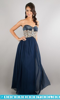 $193 Black Prom Dresses – Floor Length Strapless Sweetheart Dress at www.promdressbycolor.com