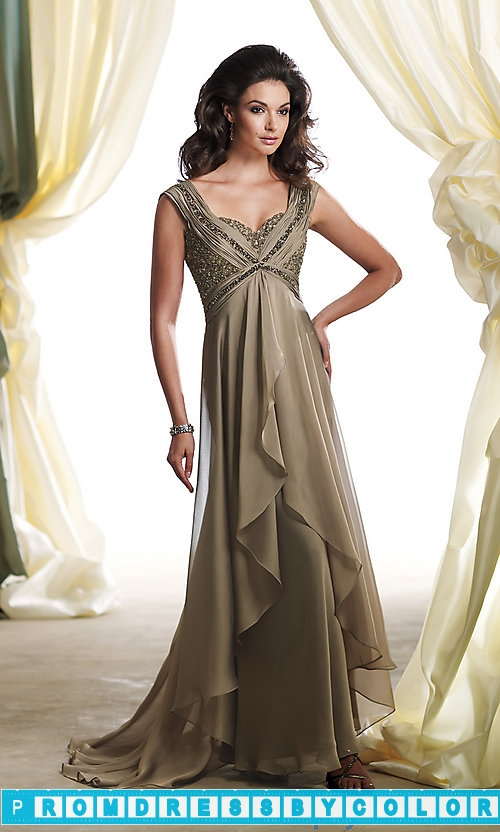 $183 Black Prom Dresses – Full Length Chiffon Sweetheart Gown at www.promdressbycolor.com