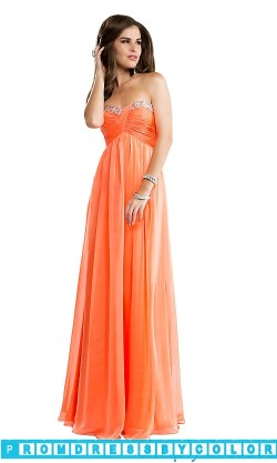 $104 Black Prom Dresses – Long Strapless Empire Waist Gown at www.promdressbycolor.com