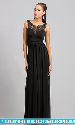 $144 Red Prom Dresses – Floor Length Sleeveless Black Dress at www.promdressbycolor.com