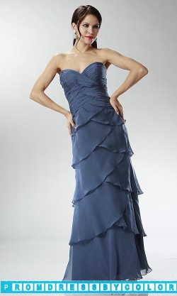 $144 Red Prom Dresses – Floor Length Tiered Strapless Sweetheart Dress at www.promdressbycolor.com