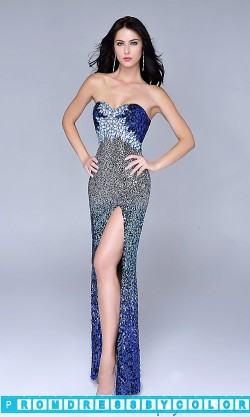 $233 Red Prom Dresses – Long Strapless Sweetheart Sequin Dress at www.promdressbycolor.com